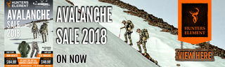 Hunters Element Avalanche SALE 2018