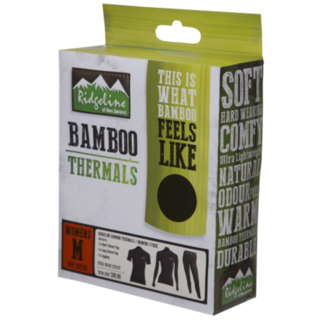 Ridgeline Womans Bamboo Thermals