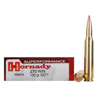 Hornady 270Win 130gr SST Superformance