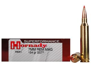 Hornady 7mm Rem Mag 154gr SST Superformance