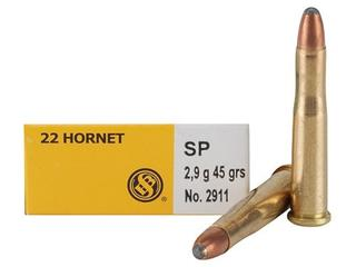 S & B 22 Hornet Seller & Bellot 45gr SP