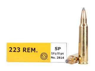 S & B 223 REM Sellier & Bellot SP 55gr