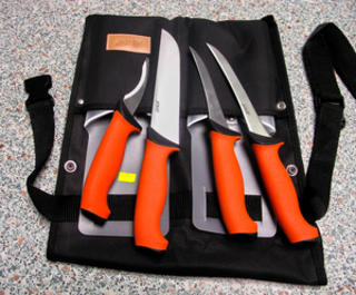 Eka Butcher Knife Set - Orange