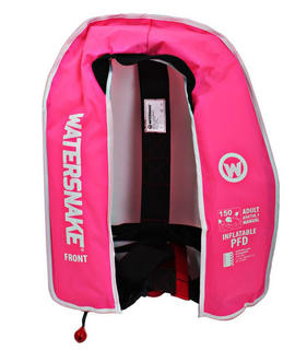 Watersnake PFD Inflatable Life Jacket Adult Pink