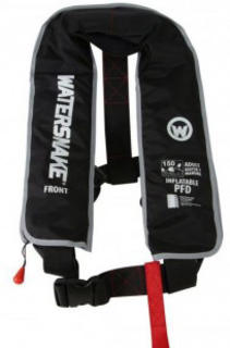 Watersnake PFD Inflatable Life Jacket Adult Black