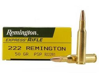 Remington 222 50gr PSP
