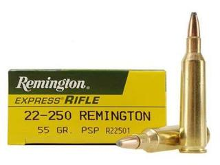 Remington 22-250 55gr PSP