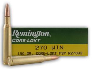Remington 270 Win 130gr PSP