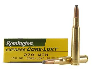 Remington 270 win 150gr SP