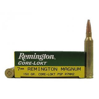 Remington 7mm Magnum 150gr PSP