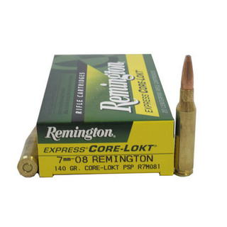 Remington 7mm08 140gr PSP