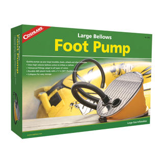 Large Bellows Foot Pump