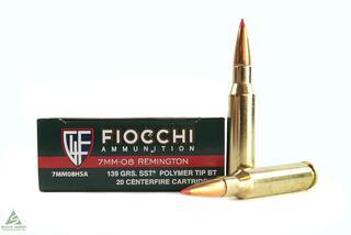 Fiocchi 7mm-08 Rem 139gr SST Poly