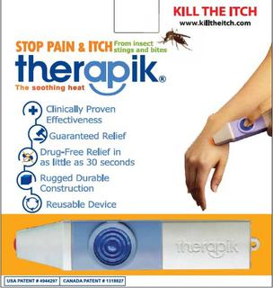 Therapik - Stop pain & itch from bites and stings