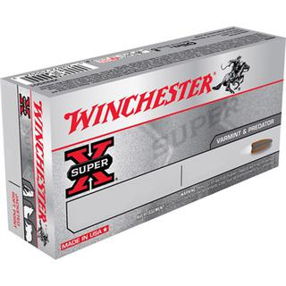 Winchester SuperX 223 Rem 55gr Pointed Soft Point