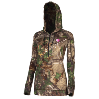 Stoney Creek Womans Stretch Hoodie Camo