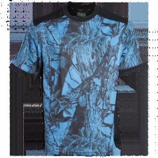 Ridgeline Mens Breeze Tee - Blue Camo