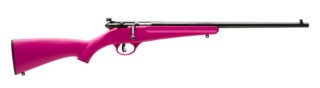 Savage Rascal Bolt Action .22LR Single Shot - Pink
