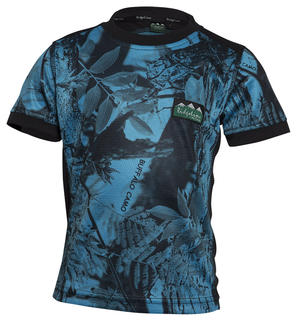 Ridgeline Kids Breeze Tee - Blue Camo