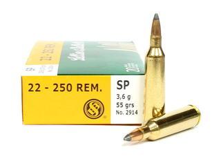 Sellier & Bellot 22-250Rem 55gr