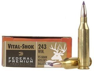 Federal Premium Vital-Shok 243Win 95gr