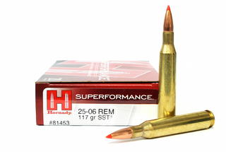 Hornady Superformance 25-06Rem 117gr SST