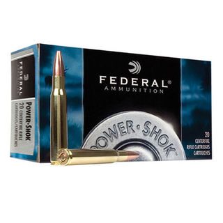 Federal Power Shok 25-06 Rem 117gr