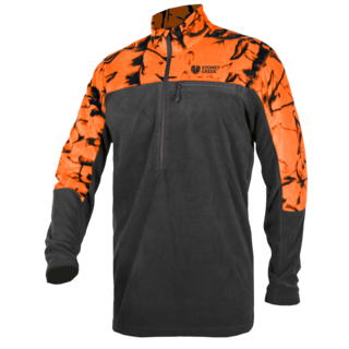 Stoney Creek Microplus Long Sleeve Top Orange & Black