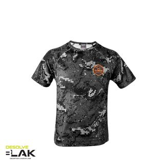 Hunters Element Kids Climber Tee - Desolve Black