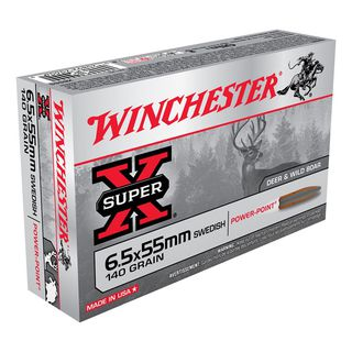 Winchester SuperX 6.5X55 Swedish 140gr SP (20)