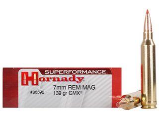 Hornady 7mm Rem Mag 139gr GMX