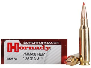 Hornady Superformance 7mm-08 139gr SST