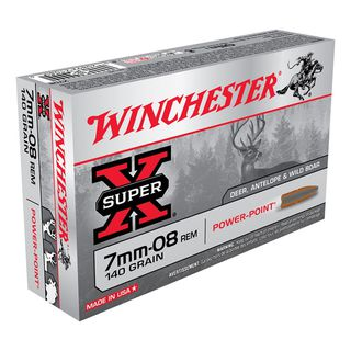 Winchester SuperX 7MM-08Rem 140gr PP (20)