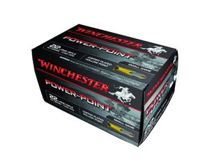 Winchester Power Point .22LR 40gr HP CP
