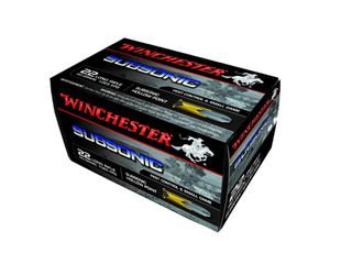 Winchester Subsonic .22LR 40gr HP 1065fps