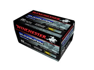 Winchester Subsonic Max .22LR 42gr HP 1065fps