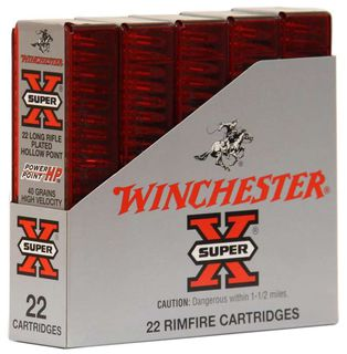 Winchester Super X 22LR 40gr Power Point