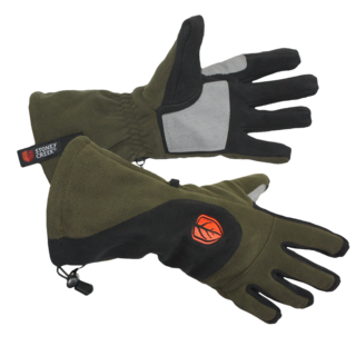 Stoney Creek Windproof Gloves - Black / Bayleaf