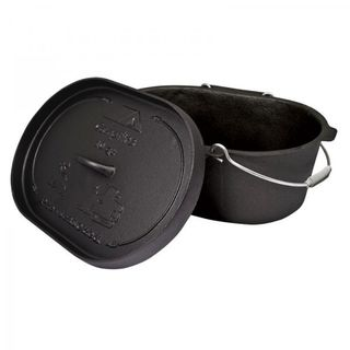 Campfire Cast Iron Camp Oven 10 Quart