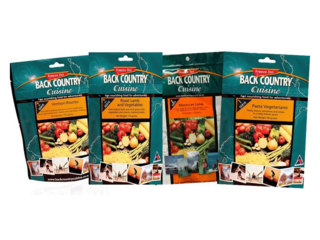 Back Country Cuisine 1 Serve Meals