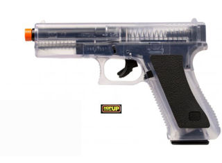 KWC Airsoft Glock 17 Pistol - Clear