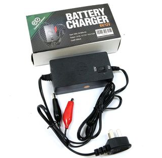 Outdoor Outfitters Battery Charger 6V-12V Multi With Indicator Light