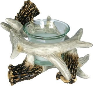Rivers Edge - Deer Antler Candle Holder
