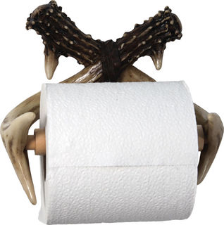 Rivers Edge - Deer Antler Toilet Paper Holder