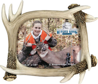 Rivers Edge - 8 x 10 Deer Antler Picture Frame