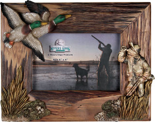 Rivers Edge - 4 x 6 Duck Hunt Frame
