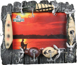 Rivers Edge - 4x6 Lure Picture Frame