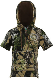 Ridgeline Little Weapon Hoodie - Buffalo Camo