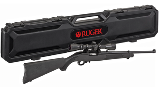 Ruger 10/22 Carbine Threaded + Weaver 3-9x40 + Ruger Case