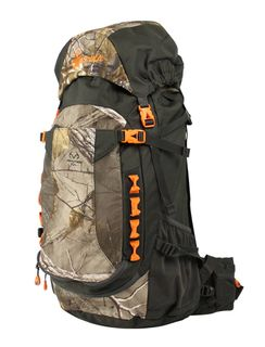 Spika Extreme Hunter 45L Backpack with 2L Hydration Bladder